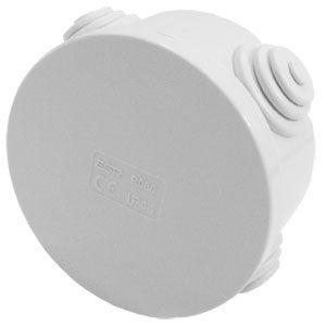 Weatherproof Circular Enclosure IP54 80mmx45mm
