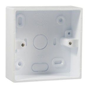1 Gang 32mm PVC Surface Box (DSO2K)