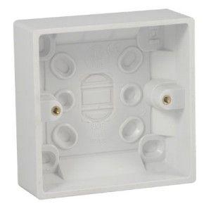 1 Gang 47mm Pattress Surface Box