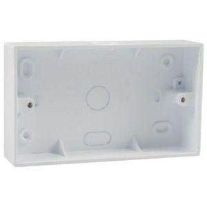 2 Gang 32mm PVC Surface Box (DST2K)