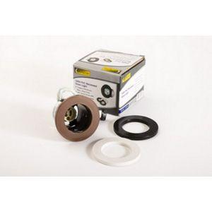 GU10 PVC Downlight C/W Black, Brown, White Bezel