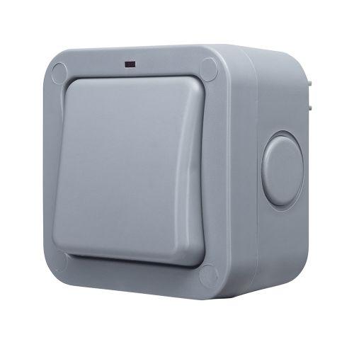 20A Weatherproof Outdoor 1G 2W IP66 Light Switch