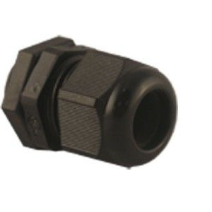 25mm PG Gland Black IP68 c/w locknut
