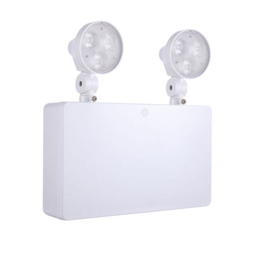 3 Watt LED IP20 Twin Spot Emergency Light