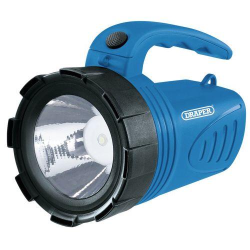 3W Rechargeable Spotlight Blue