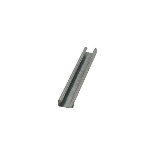 41x21mm Plain Support Chanel 3 Metre Length