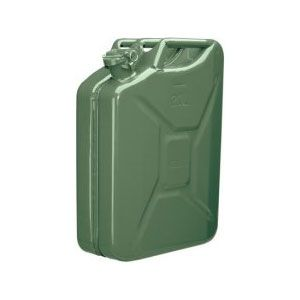 Draper 20L Green Steel Fuel Can