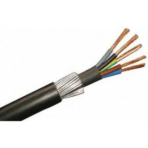 5 Core 6.0mm SWA Cable Blue, Grey, Brown, Black, Green/yellow