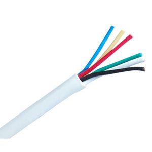 6 Core Alarm Cable White (100mt coil)