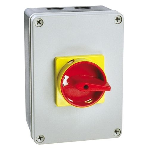 63 Amp 4 Pole Polycarbonate Boxed Isolator Switch