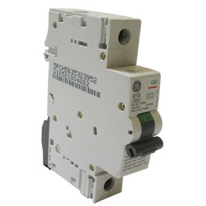 GE 10Amp SP Type D Motor Rated MCB