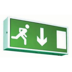 8W 3Hr Emergency Non Maintained Exit Box