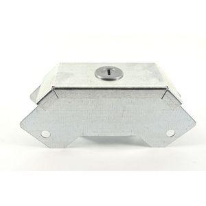 50x50mm Galvanised Trunking 90° External Bend