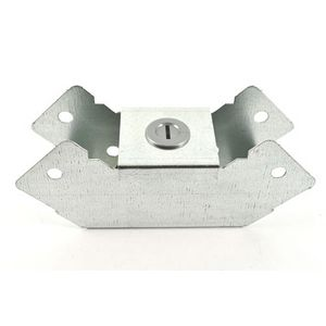 50x50mm Galvanised Trunking 90° Internal Bend