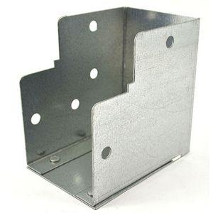 75x75mm Galvanised Trunking 90° Internal Elbow Bend