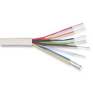 8 Core Alarm Cable White (100mt coil)