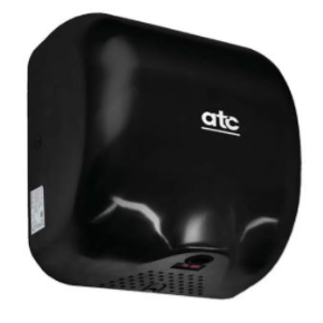 ATC Z-2281B CHEETAH 1475W Black Enamel Automatic Hand Dryer