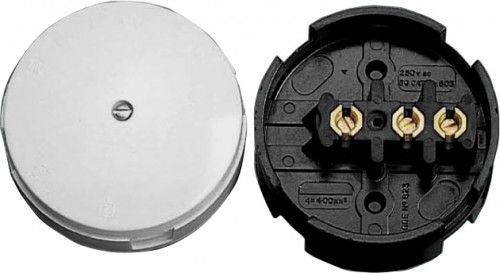 BG 603 3 Way 30 Amp Junction Box Brown