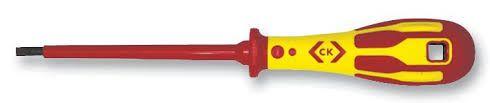 C.K DextroVDE 1000v Screwdriver Slotted Parallel 6.5x150mm T4914