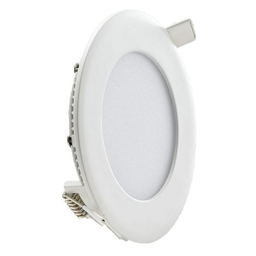 Circular LED Panel 6W, White Trim, 4000k