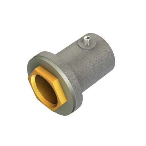 Conlok 25mm Galv Flanged Coupler