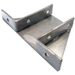 Double Delta Plate (Gusseted) 2 Hole