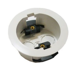 1 Gang 34mm Circular Dry Lining Box