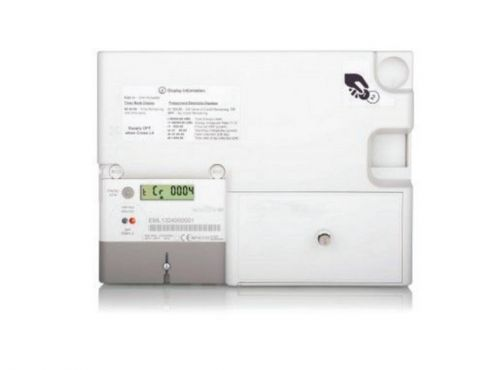 Euro 1 & 2 100A Electronic Coin Prepayment Meter