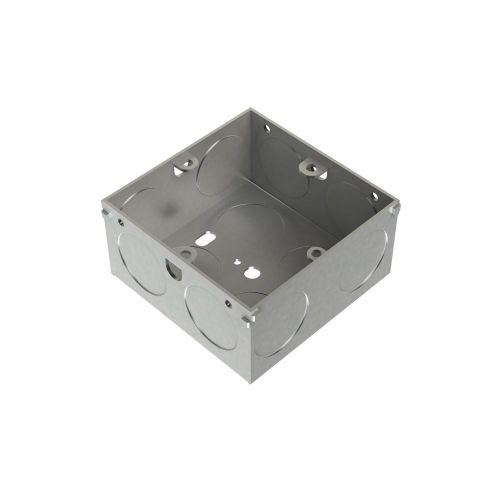 Metpro 35mm 1 Gang Flush Steel Back Box