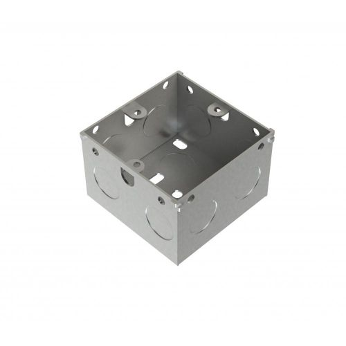 Metpro 47mm 1 Gang Flush Steel Back Box