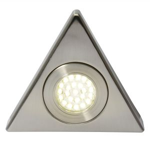 Fonte LED Under Cabinet Light in Satin Nickel, 3000K by Meteor Electrical