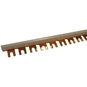 Single Pole Fork Type Busbar 57 Modular 10mm