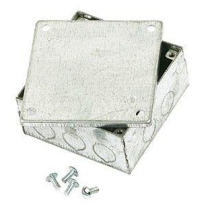 Galvanised Adaptable Box 4X4X2 IP44