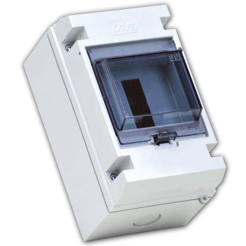 Garo 4 Way Weatherpoof Enclosure IP55 Transparent Door