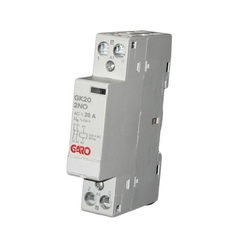 Garo 20A 2P NO Modular Contactor