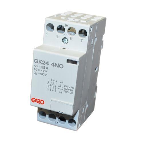 Garo 24A 4P NO Modular Contactor