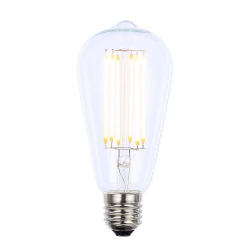 Inlight 6w LED Filament Lamp Clear, E27