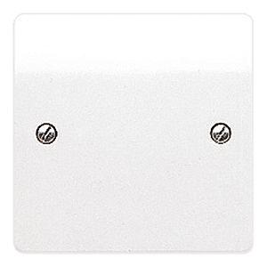 MK Logic Plus 1 Gang Blank Plate