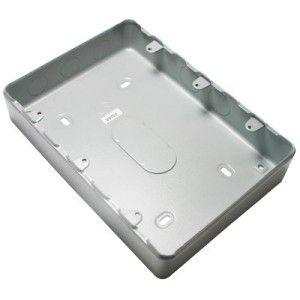 MK 9 Gang & 12 Gang Grid Surface Metal Box