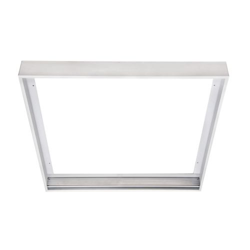 Kosnic 600 x 600mm Surface Mount Frame, White