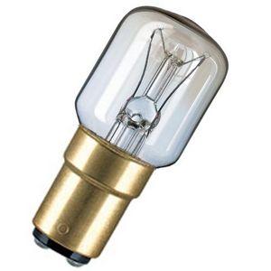 15W B15d SBC 240v Clear Pygmy Lamp.