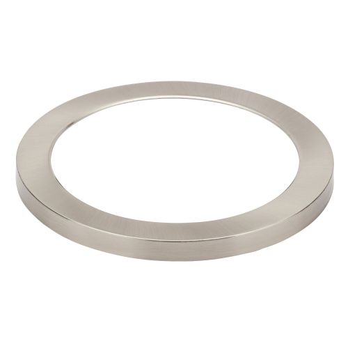 Satin Nickel Magnetic Bezel for Tauri 18w LED Wall/Ceiling Light by Meteor Electrical