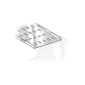 100mm Light Duty Pre-Galv Cable Tray (3 Metre)