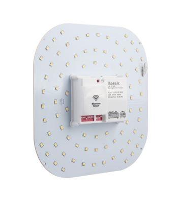 12w 4pin 2D LED Microwave Sensor Lamp 4000K - KLED12CRD/4P-W40
