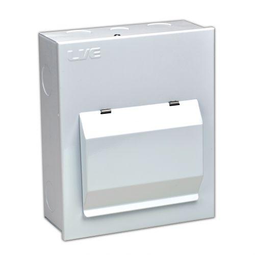 4 Usable Way Metal Clad Enclosure c/w 100A Isolator