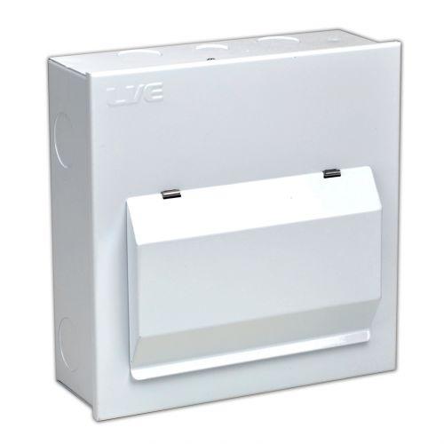 6 Usable Way Metal Clad Enclosure c/w 100A Isolator