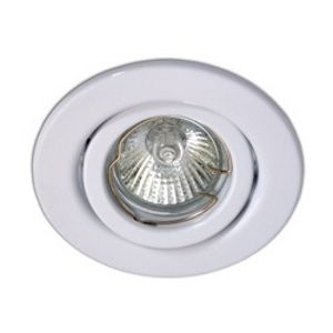 GU10 Tilt Downlight White.