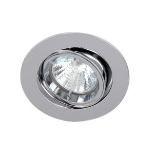 GU10 Tilt Downlight Polished Chrome.