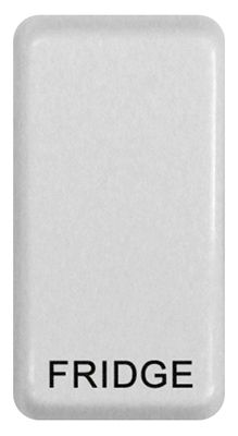 Nexus Grid Rocker, Printed Fridge, White