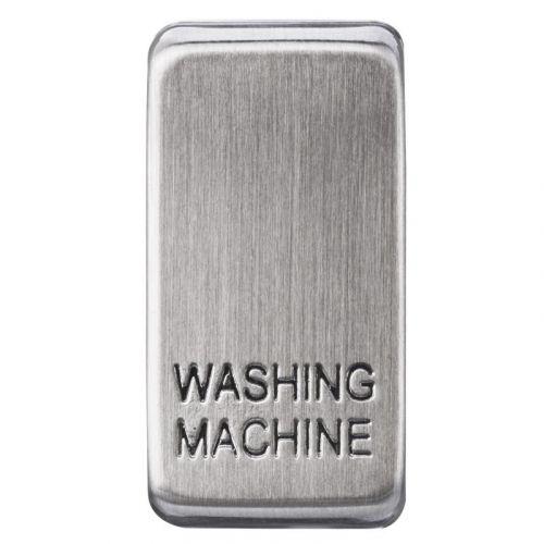 Nexus Grid Rocker, Printed Washing Machine, Brushed Steel